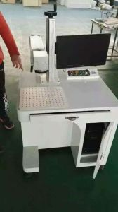 Fiber 10W Laser Marking Machine on Metal and Non-Metal pictures & photos