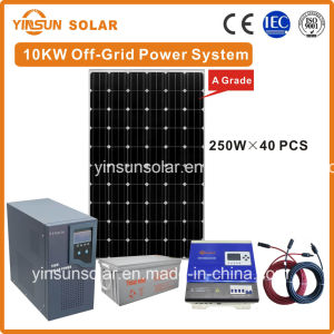 10kw Free and Continuous off-Grid Solar Power System with Ce Approval pictures & photos