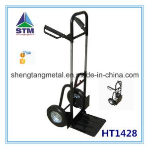 Metal Light Foldable Luggage Trolley (HT1426) pictures & photos