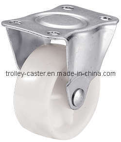 1 Inch White PP Fixed Caster Wheel pictures & photos