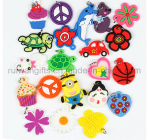 Wholesale Rubber Barcelet Charms for Kids DIY Bracelet pictures & photos