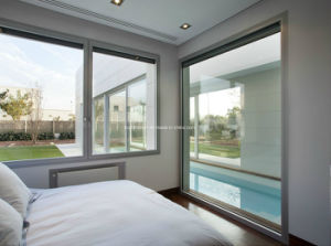 Elegant Smooth Surface Touch Aluminium Windows and Doors pictures & photos