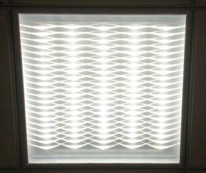 News Single Row White Color 600*600 3D Panel Light pictures & photos