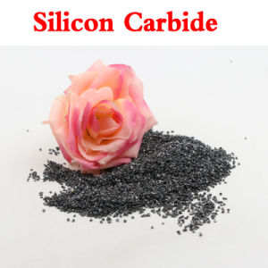 High Hardness Black Silicon Carbide Particulate for Sandblasting/Lettering pictures & photos