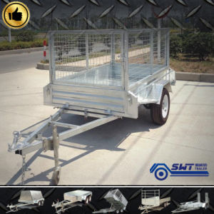 Box Trailer of Single Axle (SWT-64-L) pictures & photos