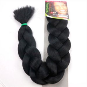 High Temperature Jumbo Braid Hair Silk Chemical Fiber Braid