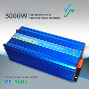 5000W Pure Sine Wave DC to AC Solar Power Inverter pictures & photos