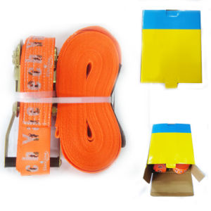 Truck Tow Hook Strap on Truck Ratchet Straps pictures & photos