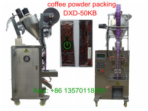 Back-Side Sealing Coffee Powder Packing Machine (PLC control; 45bags/min;) pictures & photos