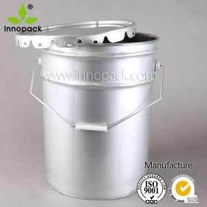 5 Gallon Metal Bucket with Handle for Paint and Chemical Packaging Price pictures & photos
