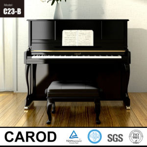 123cm Hot Sale Black Upright Piano pictures & photos