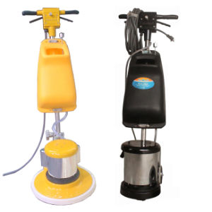 Manual Stairs Interchangeable Cleaner Floor Scrubber Sweeper pictures & photos