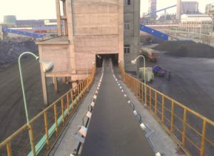 Belt Conveying/Fixed Rubber Belt Conveyor for Steel Heavy Industry pictures & photos