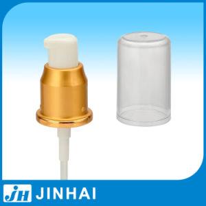 (D) Hand Plastic Golden Pump Cream Cosmetic Pump pictures & photos