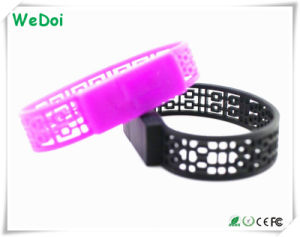 New Bracelet/Wristband USB Flash Drive with 1 Year Warranty (WY-S07) pictures & photos