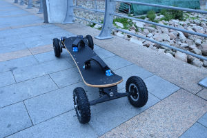 High Quality 4 Wheels Self-Balancing Electric Skateboard pictures & photos