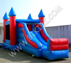 China PVC Inflatable Combos/ Inflatable Jumping Castle Bouncy House Combo Slider pictures & photos
