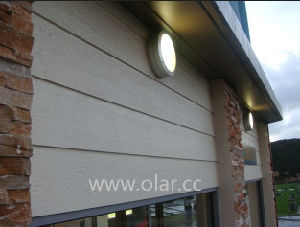 Fiber Cement Board-Wood Grain Decorative Siding Panel pictures & photos