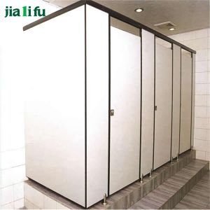 Jialifu Wood Grain Toilet Partition Malaysia pictures & photos