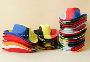 3color Felt Cowboy Hats for Carnival Day (CPPH-008) pictures & photos