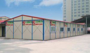 Double Slope Prefab House for Africa Market