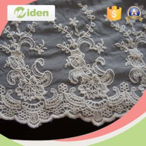 Lace Wholesale 3D Flower Saree Embroiery Lace with Stone Work pictures & photos