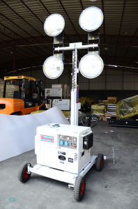 M500 Mobile LED Go-Cart Type Emergency Diesel Generator Set Light Tower