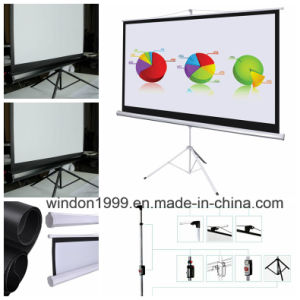 Factory Price Tripod Projection Screen pictures & photos