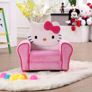 Hello Kitty Fabric Kids Upholster Chair pictures & photos