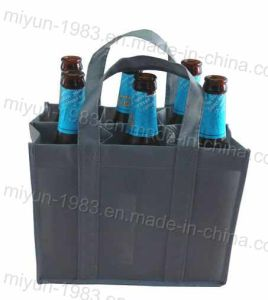 Non-Woven Beer Bag with 6 Inner Pockets (M. Y. M-115)