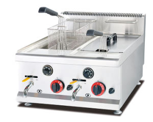 8L Per Tank Counter-Top Gas Fryer for Chicken pictures & photos