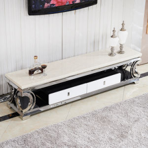 2016 High Quality Stainless Steel TV Stand for Livingroom Use (TV015) pictures & photos