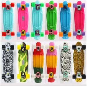 Plastic Skateboard with Hot Selling (YVP-2206-4) pictures & photos