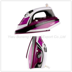 Electric Steam Iron Electric Iron Travelling Iron Sf-9007 with Ceramic Soleplate (Purple) pictures & photos