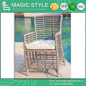 New Design Dining Set Dining Chair Dining Table Rattan Chair Wicker Table Aluminum Chair (Magic Style) pictures & photos