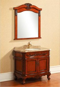 Classical Solid Wood Bathroom Cabinet Al6315