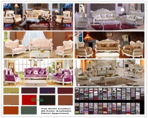 Wooden Fabric Sofa for Living Room Furniture Set (D987B) pictures & photos