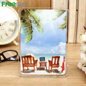 Freesub Modern Sublimation Coated Blank Printing Glass Photo Frame (BL-07) pictures & photos