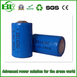 Hot Product Li-ion Recharge Cell 3.7V 300mAh / Rechargeable Battery 14250 / 3.6V Lithium Battery 1/2AA Icr14250 pictures & photos