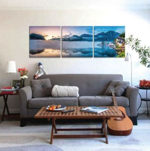 Cheap China Factory Price Mass Production Flower Painting Wall Pictures for Living Room pictures & photos