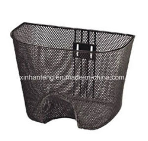 Hot Sale Strong Steel Bicycle Basket for Bike (HBK-125) pictures & photos