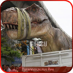 Life Size Dinosaur Statues Robotic T-Rex pictures & photos