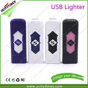 China USB Lighter Plastic USB Rechargeable Electronic Cigarette Lighter pictures & photos