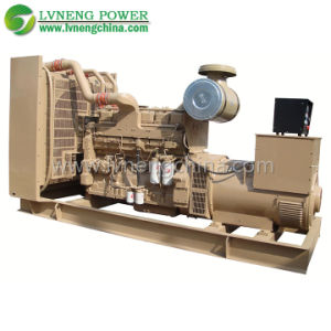 Electric Diesel Generator with Low Consumption High Efficiency pictures & photos