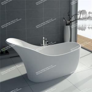 Modern Design Solid Surface Freestanding Bathroom Mineral Bathtub (JZ8613)
