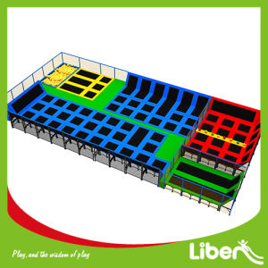 Large Indoor Cheap Rectangle Trampolines From China pictures & photos