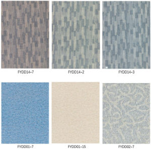 Carpet Grain WPC Vinyl Flooring Planks, Vinyl Tiles pictures & photos