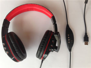 Hot Selling Game Headset USB Headphone for PC pictures & photos