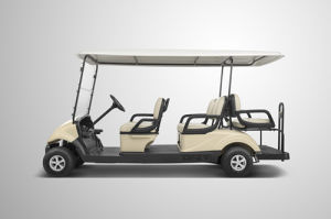 Chinese 6 Flip Flop Seat Electric Golf Buggies with CE Certification
