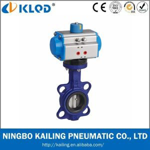 Actuator Manufactor Pneumatic Butterfly Valve pictures & photos
